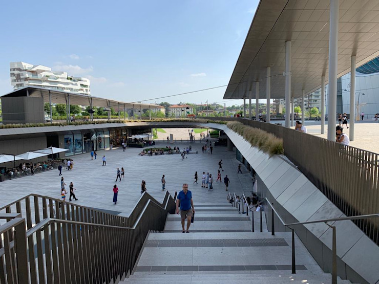 Pusat Perbelanjaan Modern Oleh Pizzul Srl Marmi Aurisina Modern Marmer
