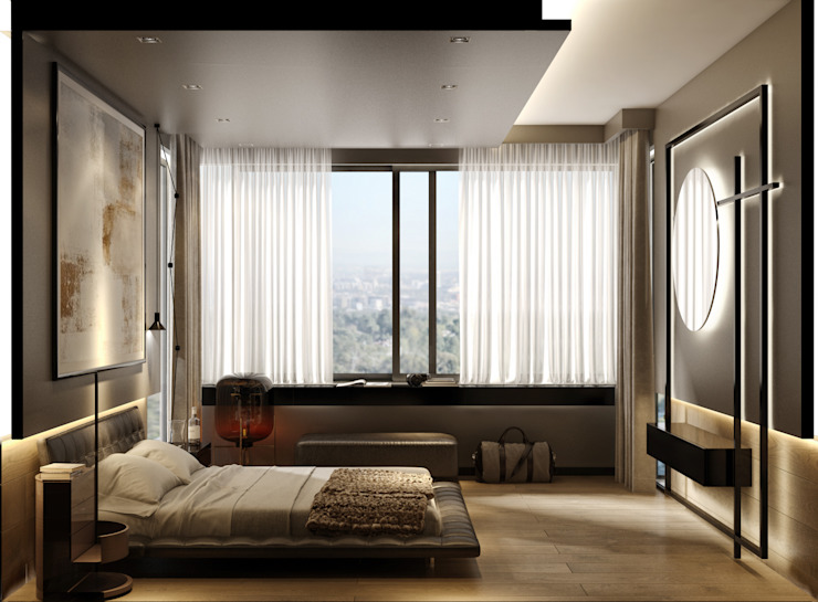 WALL INTERIOR DESIGN Modern style bedroom