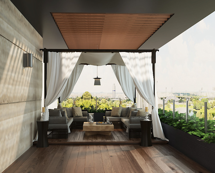 Jentayu, Nilai Norm designhaus Balcony Amber/Gold