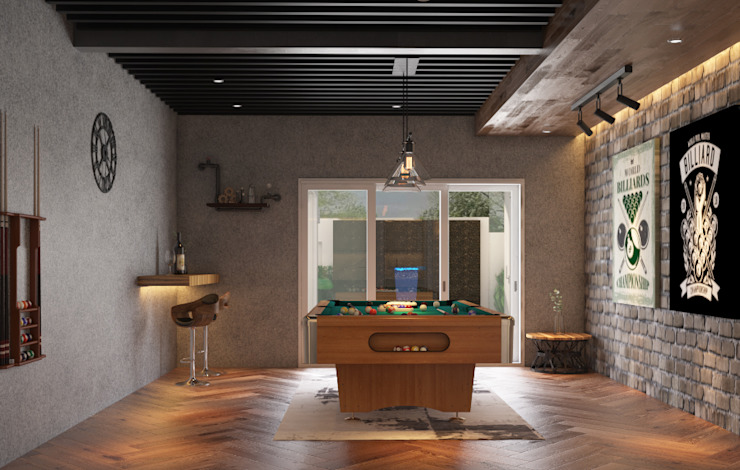 Jentayu, Nilai Norm designhaus Classic style media room