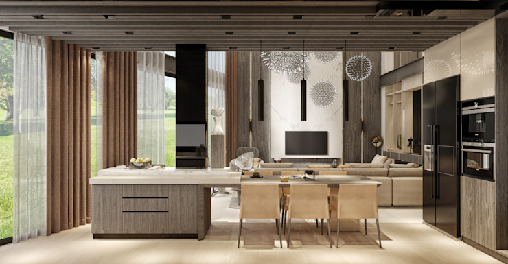 WALL INTERIOR DESIGN Cucina moderna
