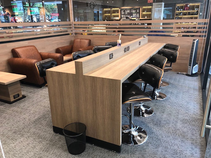 Nunco Mobler Modern offices & stores Wood Wood effect