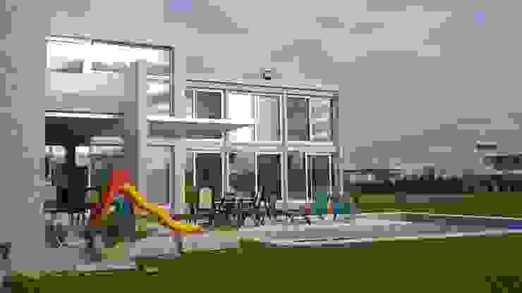 Casa en Barrio Cerrado Grupo PZ Casas modernas: Ideas, imágenes y decoración