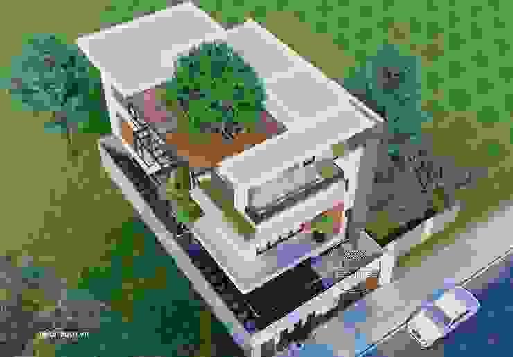 Mẫu thiết kế biệt thự đẹp 3 tầng hiện đại tại Tphcm bởi NEOHouse