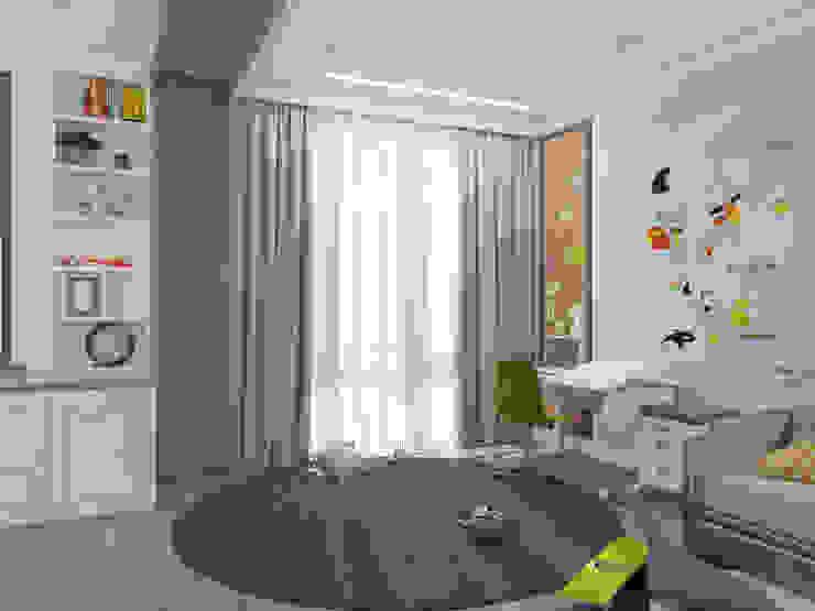 Dormitorios infantiles de estilo clásico de Rubleva Design Clásico