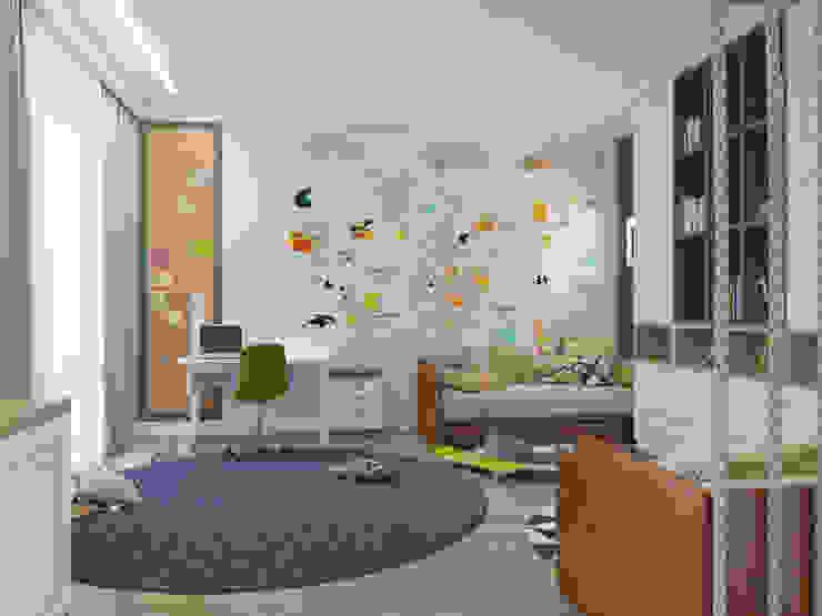 Детская комната Rubleva Design Детская комнатa в классическом стиле