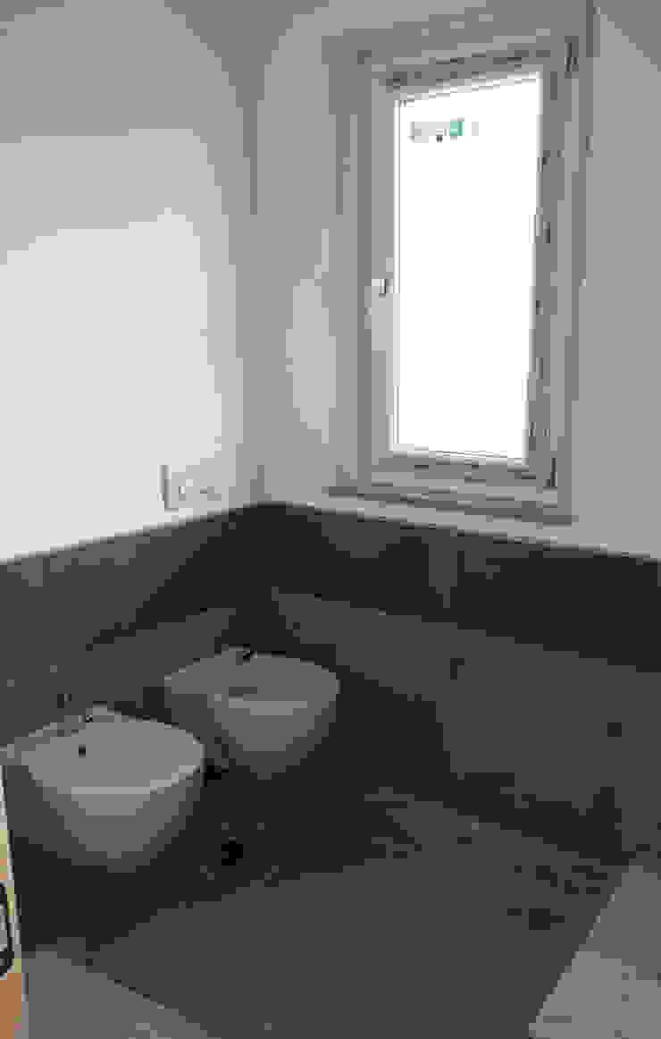 Architetto Paolo Cara ห้องน้ำ Grey