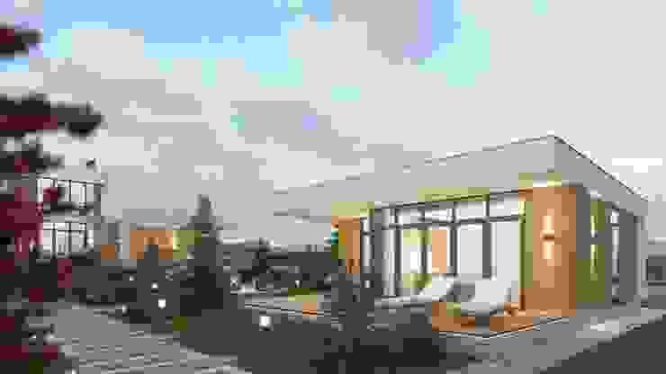 de Компания архитекторов Латышевых 'Мечты сбываются' Minimalista