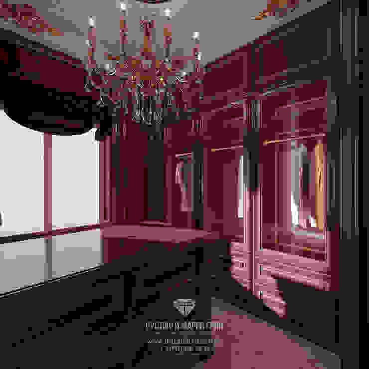 Студия дизайна интерьера Руслана и Марии Грин Vestidores y placares de estilo clásico