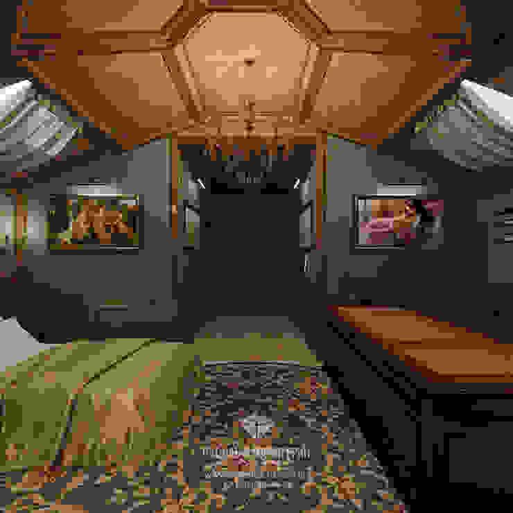 Студия дизайна интерьера Руслана и Марии Грин Dormitorios de estilo clásico