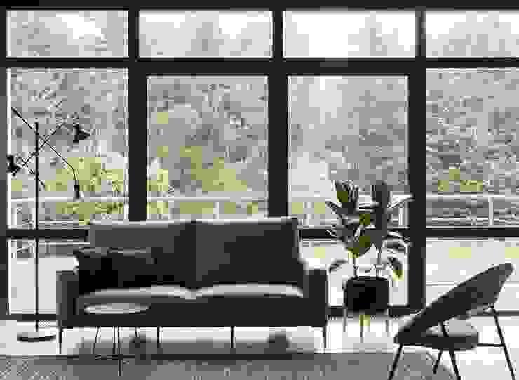 Canapé Grenelle par Imagine Outlet Moderne Cuir Gris
