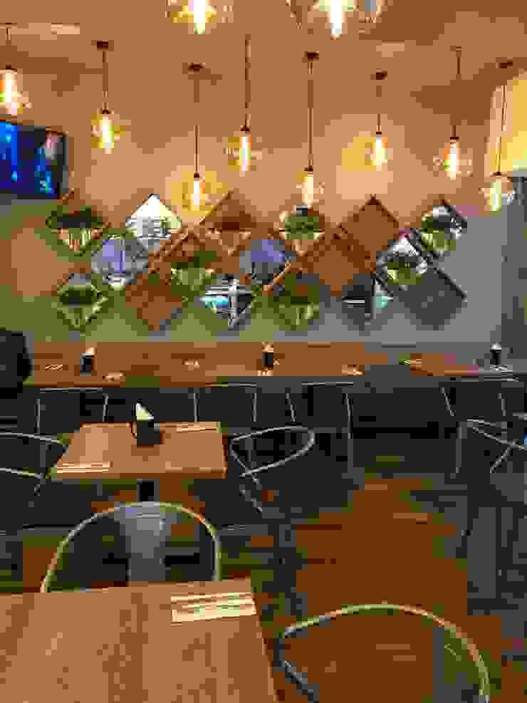 DE LEON PRO Gastronomi Modern Kayu Wood effect