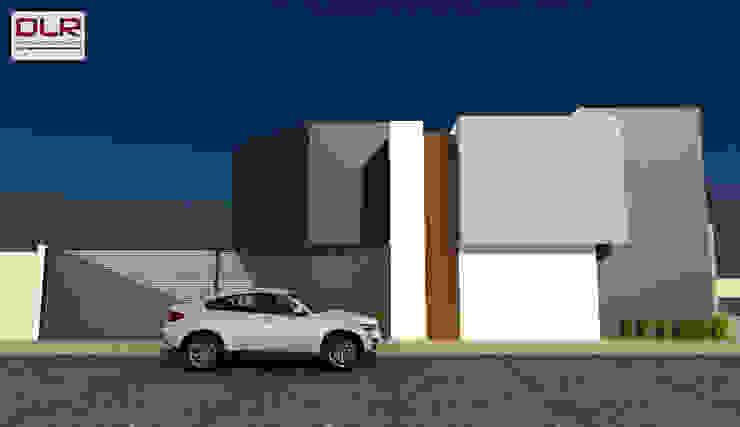 DLR ARQUITECTURA/ DLR DISEÑO EN MADERA Minimalist houses Concrete