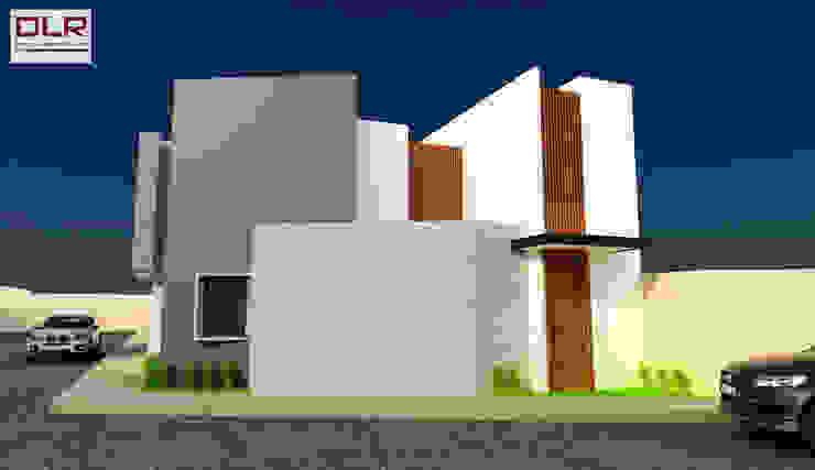 DLR ARQUITECTURA/ DLR DISEÑO EN MADERA Minimalist houses Wood