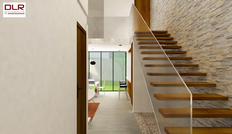 DLR ARQUITECTURA/ DLR DISEÑO EN MADERA Stairs Wood