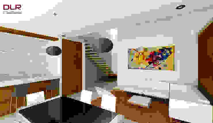 DLR ARQUITECTURA/ DLR DISEÑO EN MADERA Minimalist dining room Wood