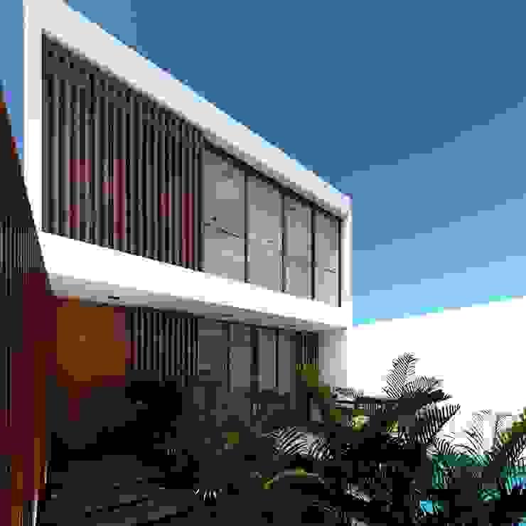 Casa Paracas Casas modernas: Ideas, diseños y decoración de Crearq Studio Moderno