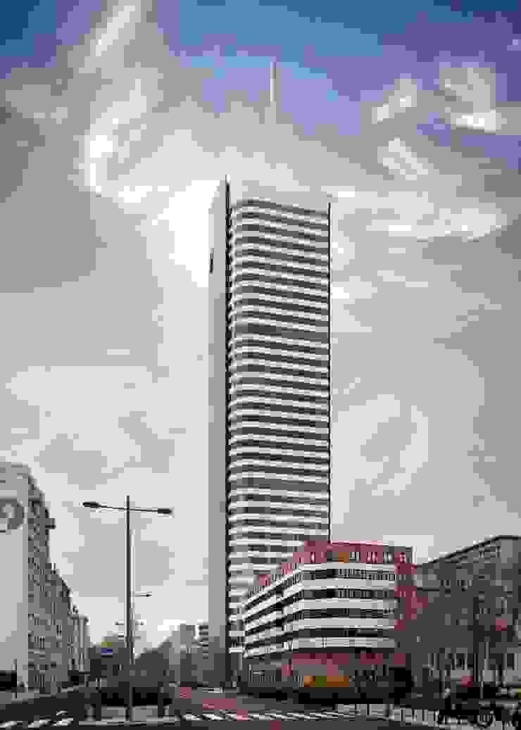 La tour Incity ADskillphotos Espaces de bureaux modernes