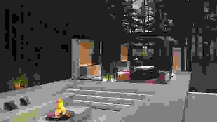 Suiten7 Patios & Decks Concrete Grey