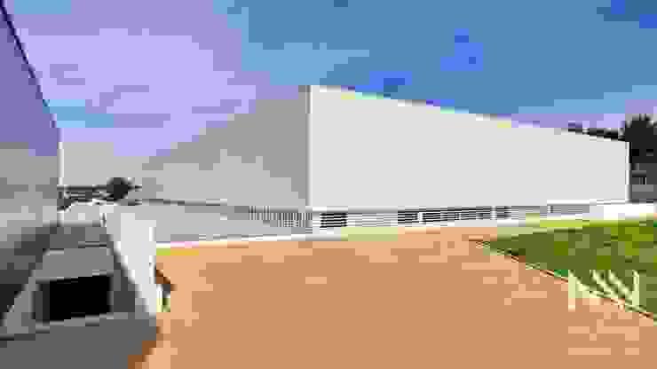 EB 2/3 Vizela Escolas modernas por ARTEQUITECTOS Moderno
