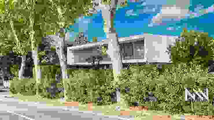 Habitação AN ARTEQUITECTOS Casas modernas
