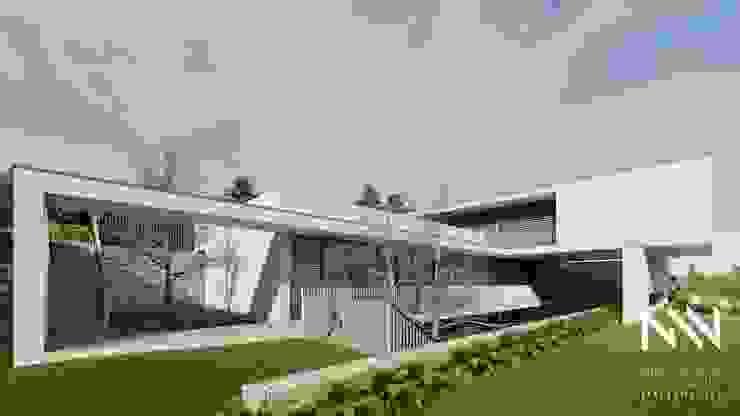 Casas modernas de ARTEQUITECTOS Moderno