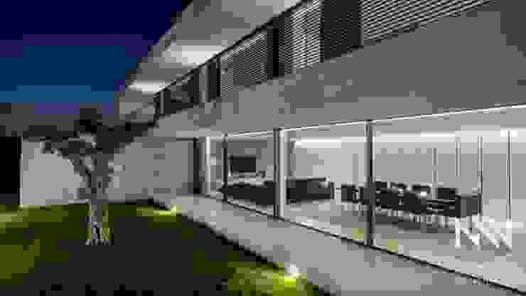 Habitação MS Salas de estar modernas por ARTEQUITECTOS Moderno