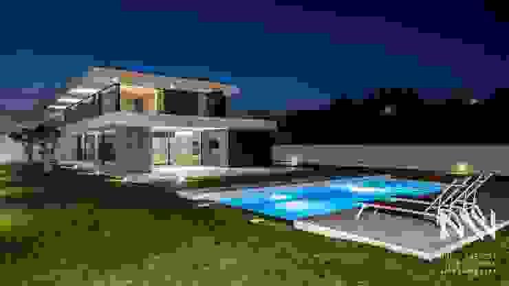 Habitação MS Piscinas modernas por ARTEQUITECTOS Moderno