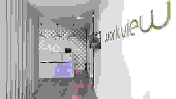 Clinica WV Corredores, halls e escadas modernos por ARTEQUITECTOS Moderno