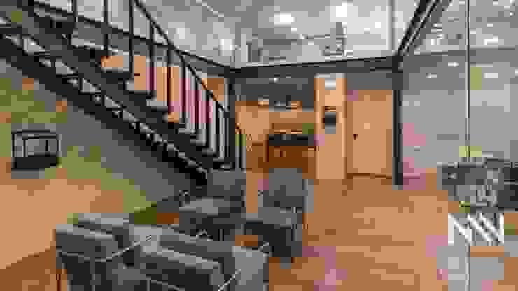 Clinica WV Escritórios modernos por ARTEQUITECTOS Moderno