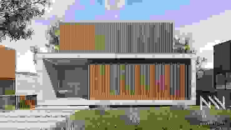 Fermentões Urbanização Casas modernas por ARTEQUITECTOS Moderno