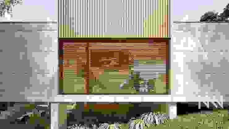 Fermentões Urbanização Janelas e portas modernas por ARTEQUITECTOS Moderno