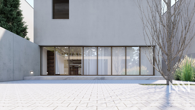 Modern Windows and Doors by ARTEQUITECTOS Modern