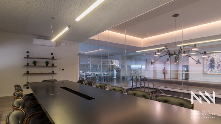 Modern Study Room and Home Office by ARTEQUITECTOS Modern