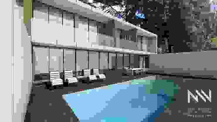 Habitação QE IF L3 por ARTEQUITECTOS Moderno