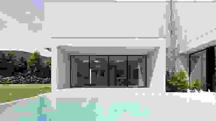 Habitação PC Piscinas modernas por ARTEQUITECTOS Moderno