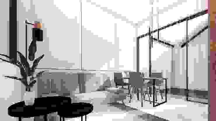 Amaranta Residence – 2nd phase Ruang Keluarga Modern Oleh Studio Benang Merah Modern