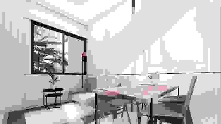 Amaranta Residence – 2nd phase Ruang Makan Modern Oleh Studio Benang Merah Modern