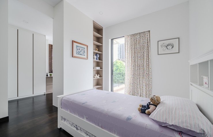 Jalan Tupai Minimalist bedroom by Summerhaus D'zign Minimalist