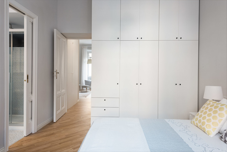 Grippo + Murzi Architetti Modern Bedroom