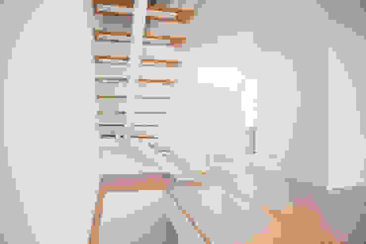 Decor-in, Lda Treppe Holz Weiß