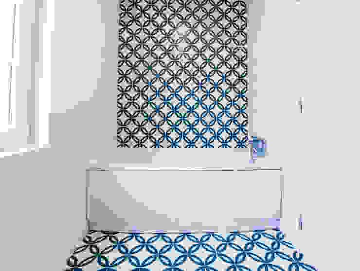 Decor-in, Lda Moderne Badezimmer Fliesen Blau
