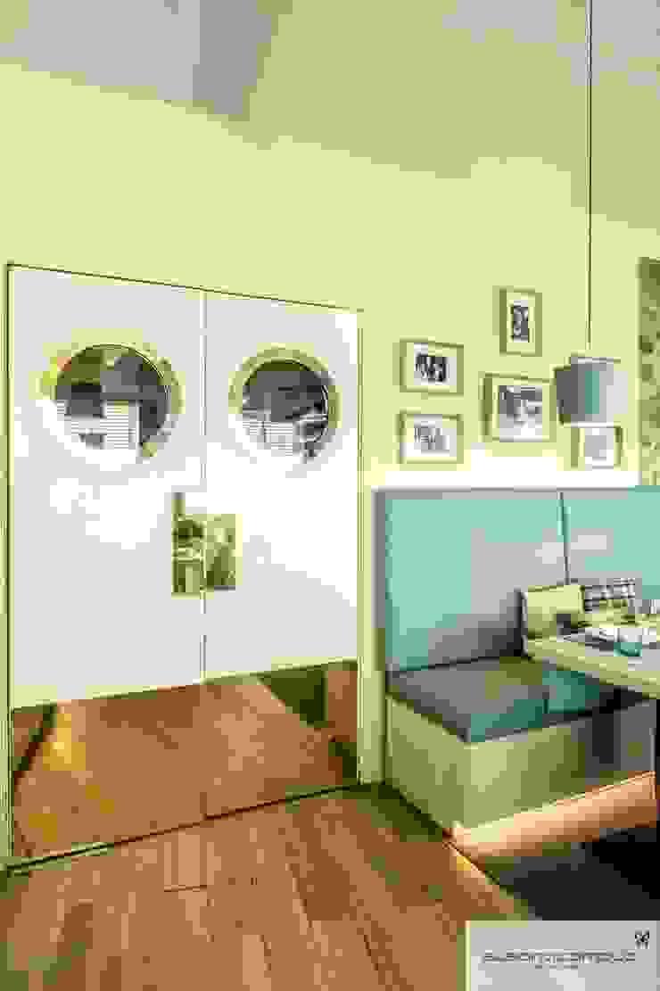 Susana Camelo Puertas interiores Aglomerado Azul