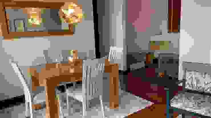 Renovación Comedor Comedores de estilo moderno de ANA ESTRADA DISEÑO INTERIOR Moderno Madera Acabado en madera