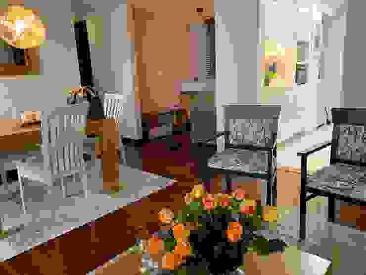 Remodelación Sala comedor y cocina Salas modernas de ANA ESTRADA DISEÑO INTERIOR Moderno Madera Acabado en madera