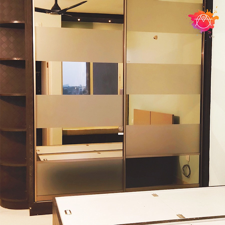 Bedroom wardrobe by Mansha Interior Classic