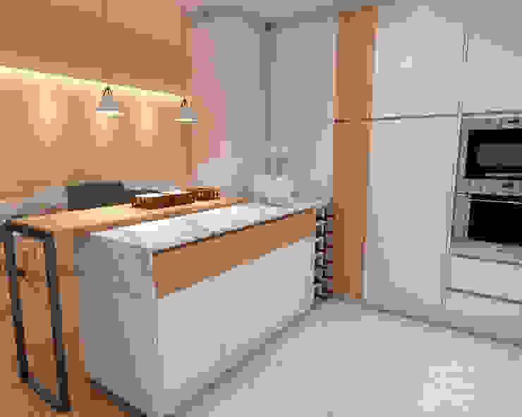 Cozinha Angelourenzzo - Interior Design Cozinhas escandinavas