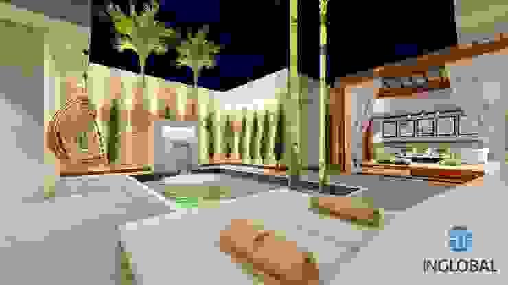 Área de Lazer -Residencia Céu Azul por Inglobal planejamentos Moderno Concreto