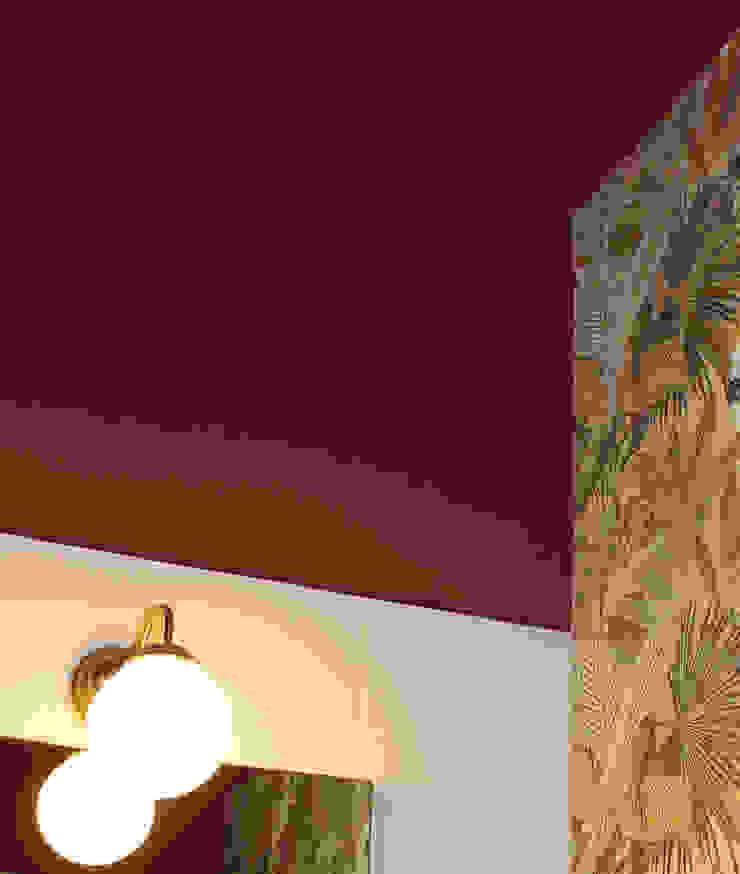 Bar II Colonne Pareti & Pavimenti eclettiche di ALMA DESIGN Eclettico