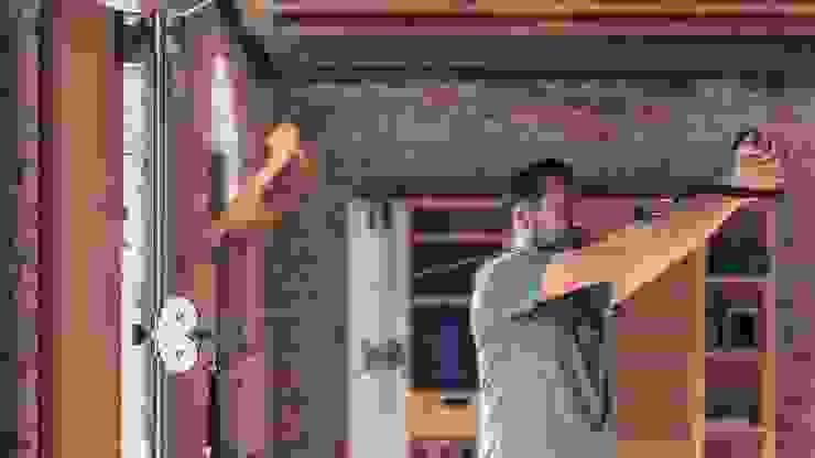 SlimBeam Wooden cable machine Walnut to match the rest of the range โดย GymRatZ Gym Equipment สแกนดิเนเวียน ไม้ Wood effect
